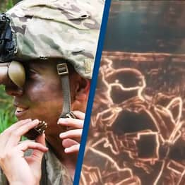 US Army Shows Exactly How The Battlefield Looks With Their New Night Vision Goggles