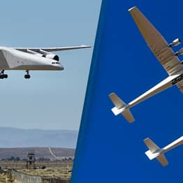 Aircraft As Wide As Football Pitch Completes Second Test Flight
