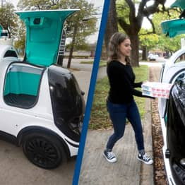 Domino's Launches Robot Pizza Delivery Service