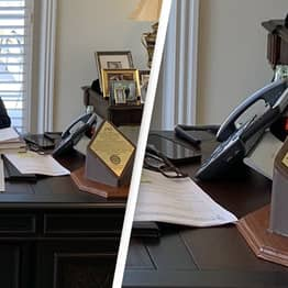 Trump Pictured With Coke Bottle On Desk Amid Insistent Calls For Boycott