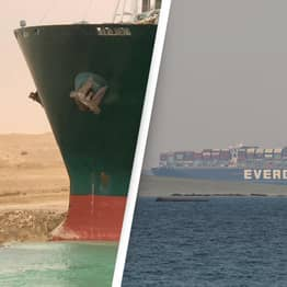 Ever Given Ship Banned From Leaving Suez Canal Until Owners Pay Up To $1 Billion In Compensation