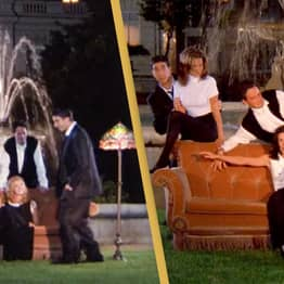 Friends Reunion Will Use Original Opening Credits Fountain And Stage