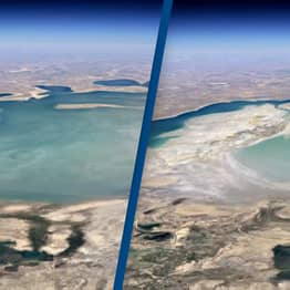 Google Earth's New Timelapse Feature Shows Disturbing Effects Of Climate Change