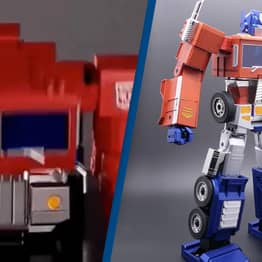 Hasbro's New $700 Optimus Prime Toy Can Finally Transform By Itself
