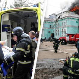 Surgeons Continue To Perform Heart Surgery Despite Hospital Setting On Fire