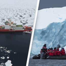 Climate Change Puts A Third Of Antarctic Ice Shelves At Risk Of Collapsing