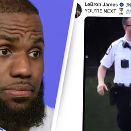 LeBron James' Controversial Tweet About Police Officer Leads To Calls For Sponsors To Drop Him