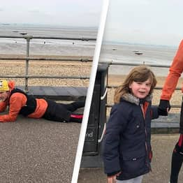 Mum Praises 'Hero' Stranger For Lying On Pavement With Her Autistic Son