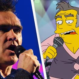 Morrissey Calls The Simpsons 'Racist' After Depicting Him With 'His Belly Hanging Out'