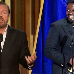 This Ricky Gervais Speech On Twitter Last Night Got Three Times As Many Views As Oscars Ceremony
