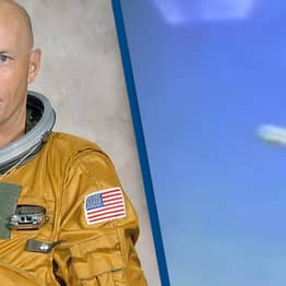 NASA Astronaut Claims To Have Seen Alien Snake Floating In Earth's Atmosphere