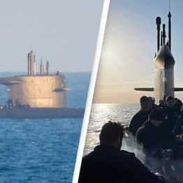 Submarine Surfaces Off UK Coast So Crew Can Enjoy Barbeque In The Sunshine