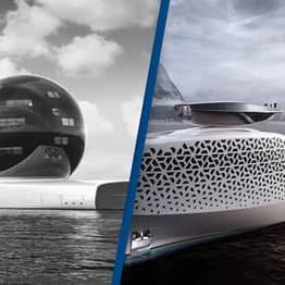 Nuclear-Powered Superyacht That's $3 Million Per Ticket Will Be Free To Climate Change Students