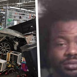 Walmart Worker Crashes Car Into Store After Being Fired