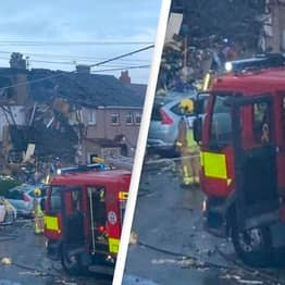 Major Incident Declared After Suspected Gas Explosion Destroys Three Houses