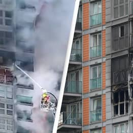 Residents Of London Flats Ablaze With 'Grenfell Tower' Cladding Had Been Trying To Get It Removed For 3 Years