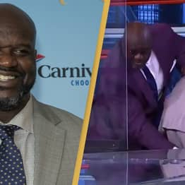 Shaq O'Neal Massages Co-Star's Leg As He's Struck With Cramp On Air