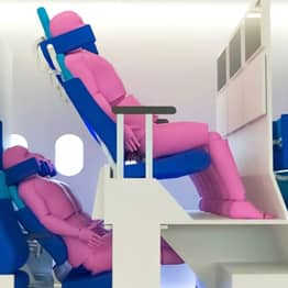 Double-Decker Plane Cabin Concepts Heralded As The Future Of Flying