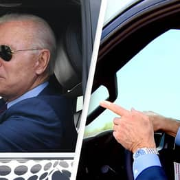 Biden Criticised For Joking He'd Run Over Reporter Who Asked Him About Israel