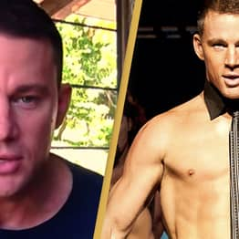 Channing Tatum Jokes He's Naked In Most Of His Movies Because He Can't Act