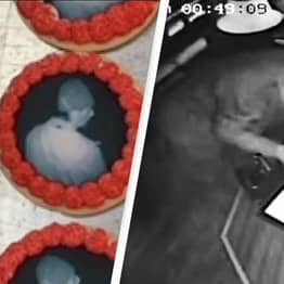 Bakery Puts Burglary Suspect's Face On Cookie To Help Catch Criminal