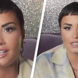 Demi Lovato Praised For 'Sharing Who They Truly Are' And Coming Out As Non-Binary