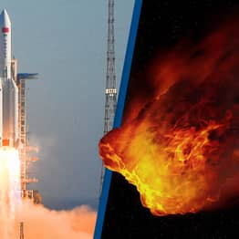 Out-Of-Control Chinese Rocket Tumbling To Earth Expected To Crash-Land This Weekend