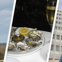 Wanted Man Hires Helicopter, Eats Oysters And Champagne, Before Turning Himself In