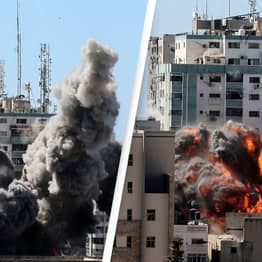 No Evidence Hamas In Media Building Destroyed By Israeli Airstrikes, US Secretary Of State Claims