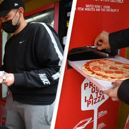 Pizza Vending Machine Launches In Rome And People Aren't Happy