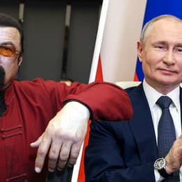 Steven Seagal Joins Putin Supporting Pro-Kremlin Party
