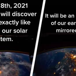 Time Traveller From 2582 Says Astronauts Will Discover 'Earth Clone' This Weekend
