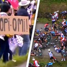 Spectator Who Caused Tour De France's 'Worst-Ever' Crash Has Been Arrested