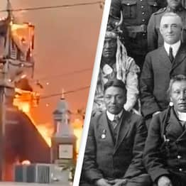 114-Year-Old Catholic Church Destroyed In Fire Following Discovery Of Indigenous Remains