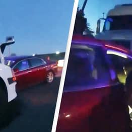 9-Year-Old Girl Crashes Head-On Into Lorry After Stealing Parents' Car