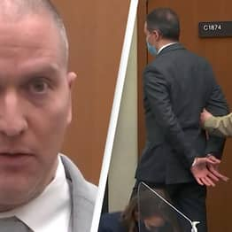 Derek Chauvin Sends Cryptic Message To George Floyd's Family Before Sentencing