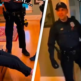 Drunk Teenager Breaks Into Airbnb Filled With Cops