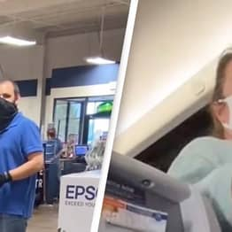 Woman Constantly Stared At For Her 'Manly Mask'