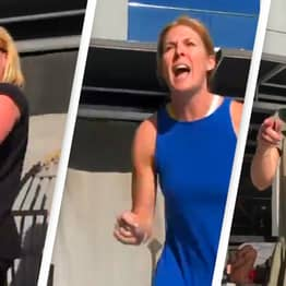 Crowd Chants 'Shame' At Women Who Allegedly Complained About Lesbian Couple Kissing