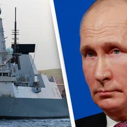 Russia Claims To Have Fired Warning Shots At British Warship