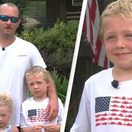 Seven-Year-Old Swims For An Hour To Get Help For Family Stranded In River