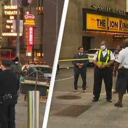 21-Year-Old Bystander Shot In The Back In Times Square