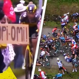 Spectator Who Caused Tour De France's 'Worst-Ever Crash' Has Disappeared