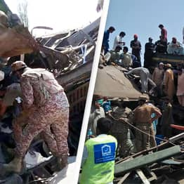 At Least 40 Dead, 50 Injured After Two Trains Collide In Horrifying Crash