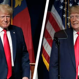 People Are Trying To Figure Out If Trump Wore His Trousers Backwards