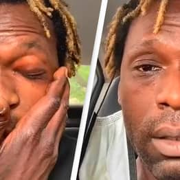 Homeless Uber Eats Driver Tearfully Breaks Down As He Begs People To Leave Tips