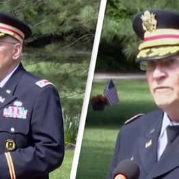 Veteran's Mic Gets Muted When He Tries To Credit Black Americans In Memorial Day Speech
