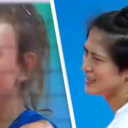 Serbian Volleyball Player Suspended For Racist Gesture During Match Against Thailand