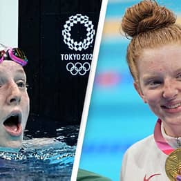 Shock As 17-Year-Old Swimmer Wins Gold Medal In Tokyo Olympics