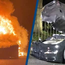 $129,900 Tesla Burst Into Flames While Driver Was Inside, Three Days After Buying It